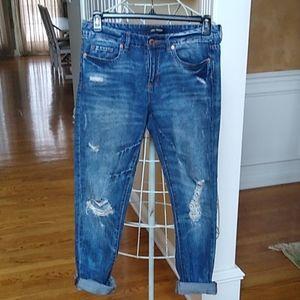 Joe Fresh Boyfriend Distressed Jeans